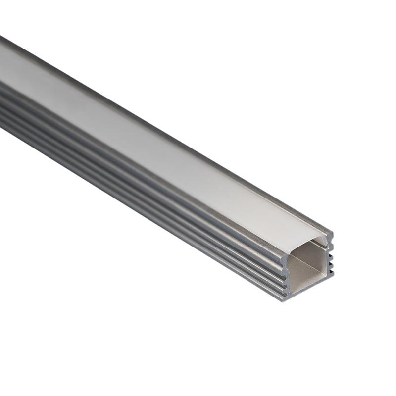 Profilo per strisce led superficie alto strisce led - Strisce led per mobili ...