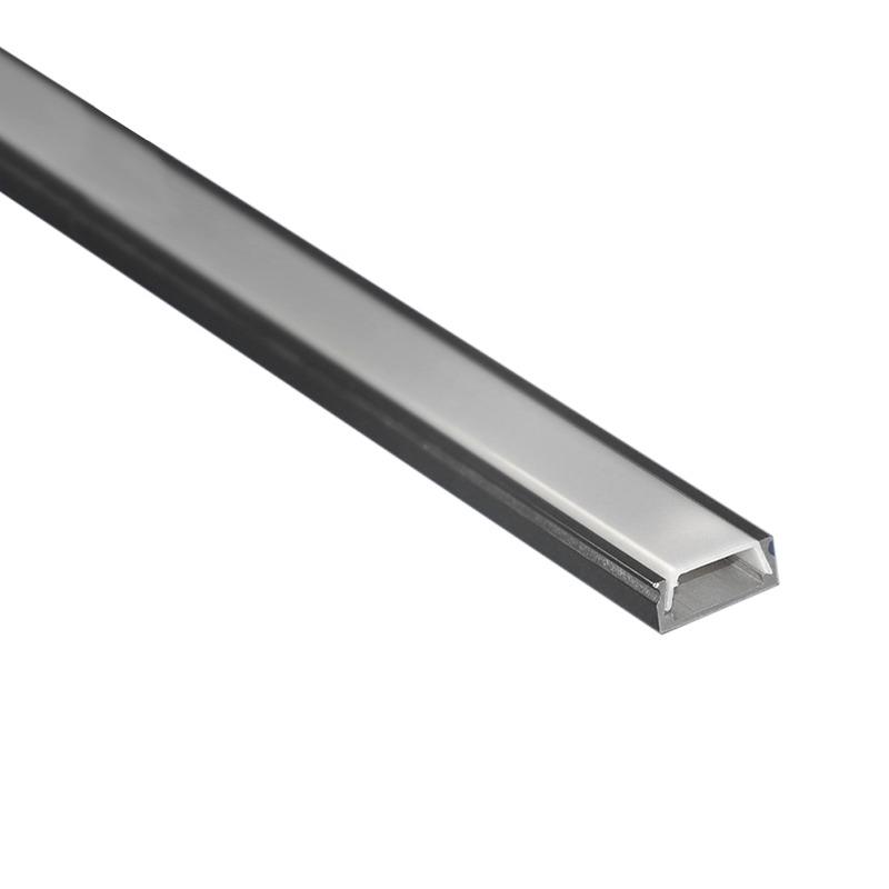Profilo per strisce led superficie basso lampade led - Strisce led per mobili ...