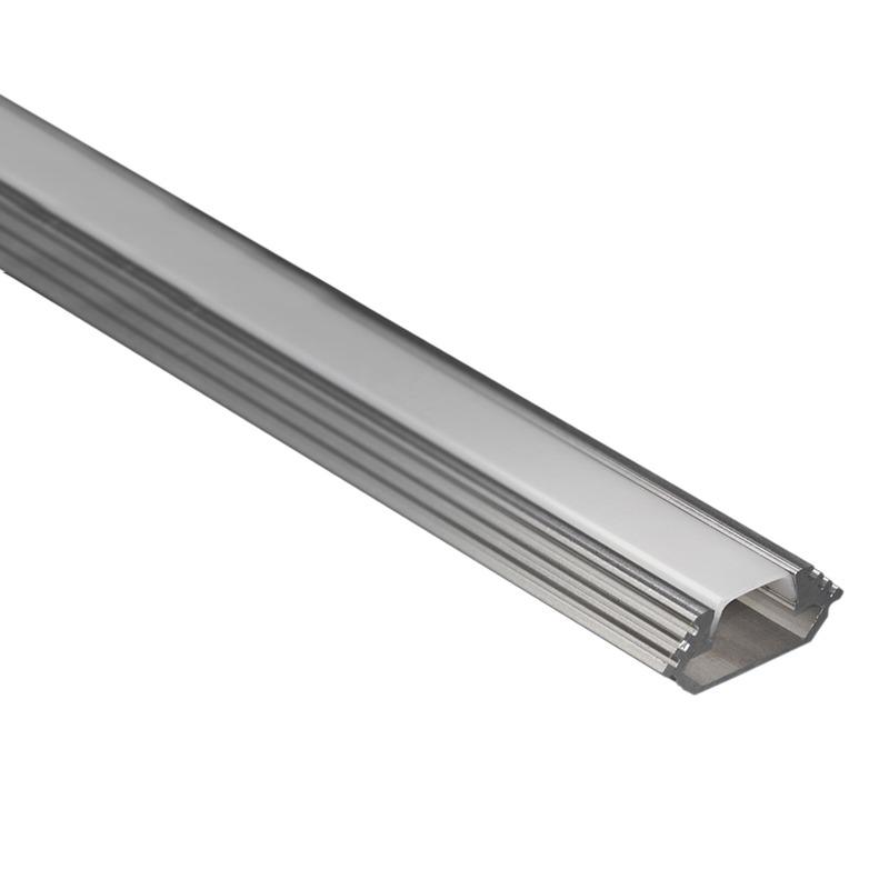 Profilo per strisce led angolare strisce led led - Strisce led per mobili ...