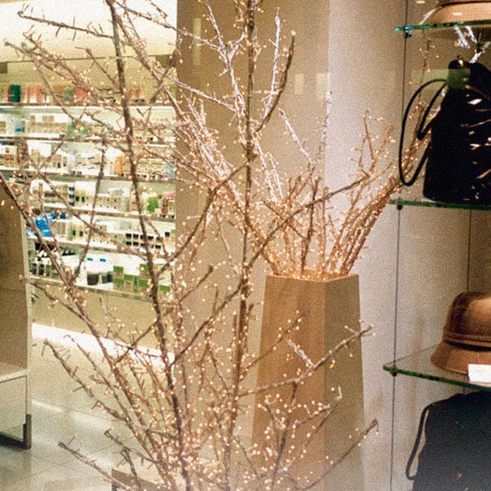 Ramo luminoso pannelli decorativi plexiglass - Rami decorativi natalizi ...