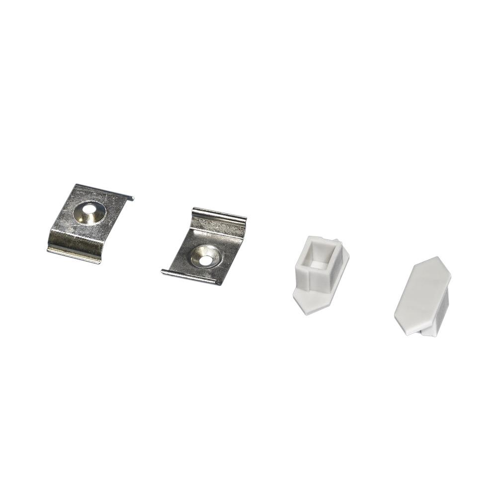 Profilo per strisce led angolare profili in alluminio - Strisce led per mobili ...