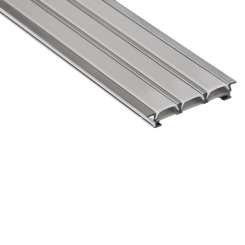 Profilo per strisce led incasso triplo strisce led led for Led a strisce