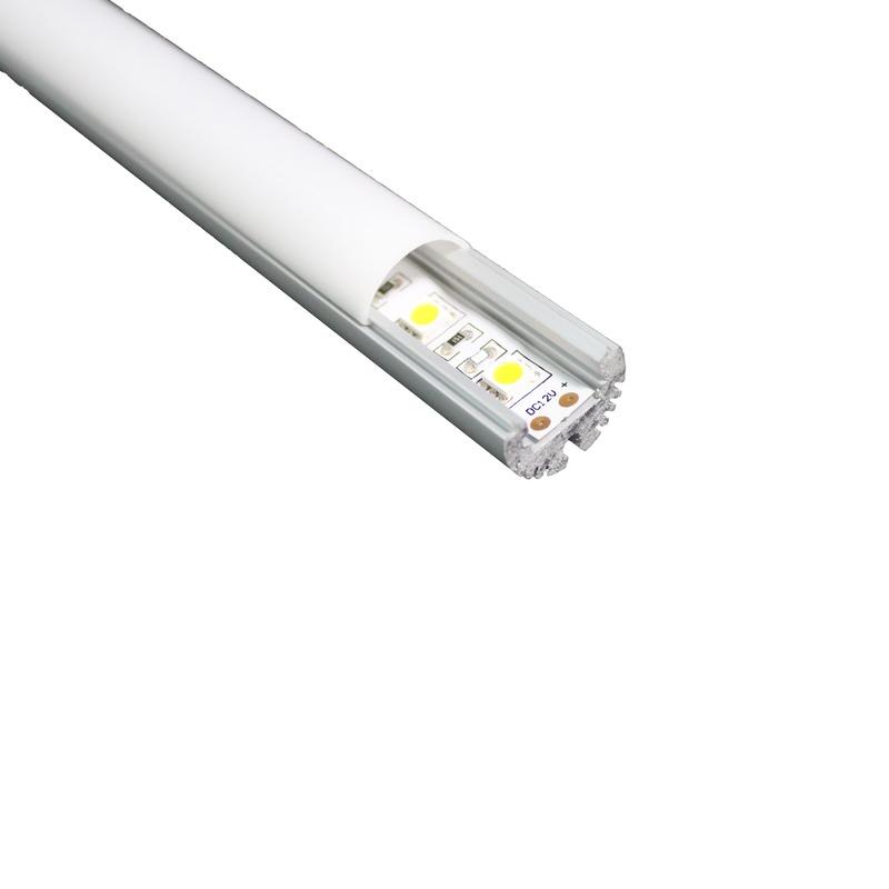 Profilo per strisce led TONDO Profili in alluminio Led residenziali Prodotti  Arteleta ...