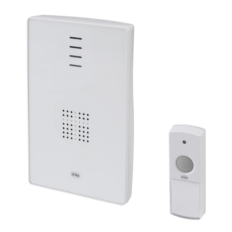 Campanello portatile senza fili lampeggiante visitor - Campanello casa senza fili ...