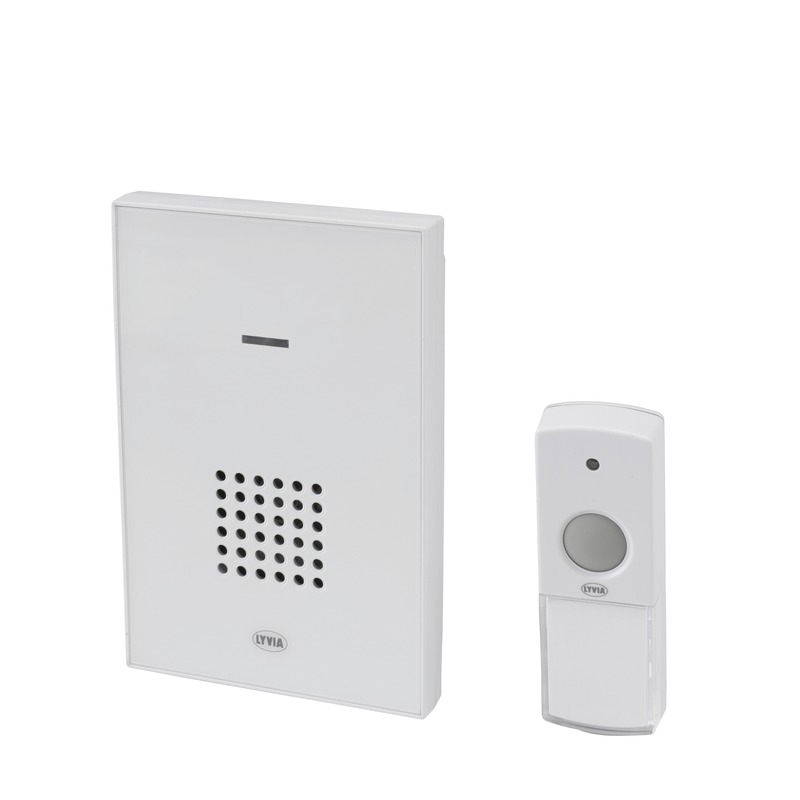 Campanello portatile senza fili saturn carillons e - Campanello senza fili da esterno ...
