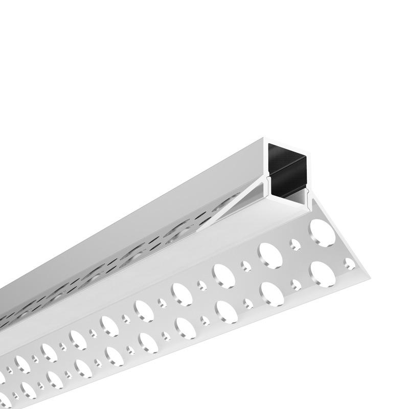 profilo per strisce led cartongesso angolo interno| lampade led